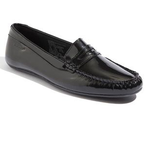 Sebago Lucerne Patent Leather Penny Loafers size 6